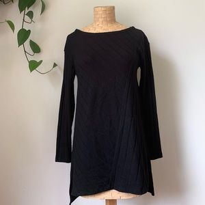 NWT Anthropologie Ribbed High Low Sweater